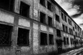 Burnt House — Stock Photo