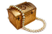 Golden Chest — Stock Photo