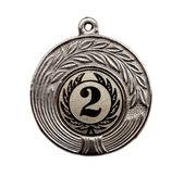 серебряная медаль — Стоковое фото