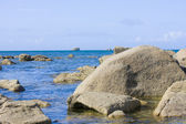 Rocks and sea — Foto Stock