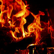 Stock Photo: Flames Fire of Hell