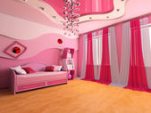 Children's room — Foto de Stock