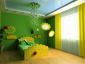 Children's Room — 图库照片