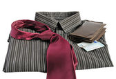 Businessman accessories — Stock Photo