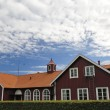 Swedish village public building — Stock Photo