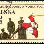 Polish postage stamp — Stock Photo #2755502