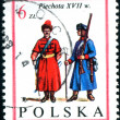 Stock Photo: Polish postage stamp