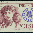 Polish postage stamp — Stock Photo #2756238
