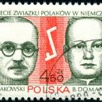 Polish postage stamp — Stock Photo #2756257