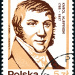 Polish postage stamp — Stock Photo #2756295