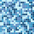 Abstract square pixel mosaic background — Imagen vectorial