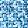 Abstract square pixel mosaic background - Stock vektor