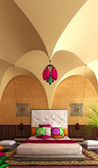 Arabic interior — Stock Photo