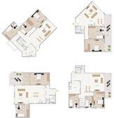 Plan de piso — Foto de Stock