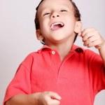 Child happy — Stock Photo
