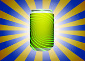 Green can — Stock Photo