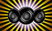 音楽とサウンド — ストック写真