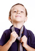 Business child — Stock Photo