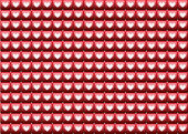Heart pattern — Stock Photo