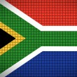Flag of South africa — Stock Photo #3197820