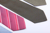 Elegance ties — Stock Photo