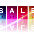 Sale Colors — Stock Photo #3276545