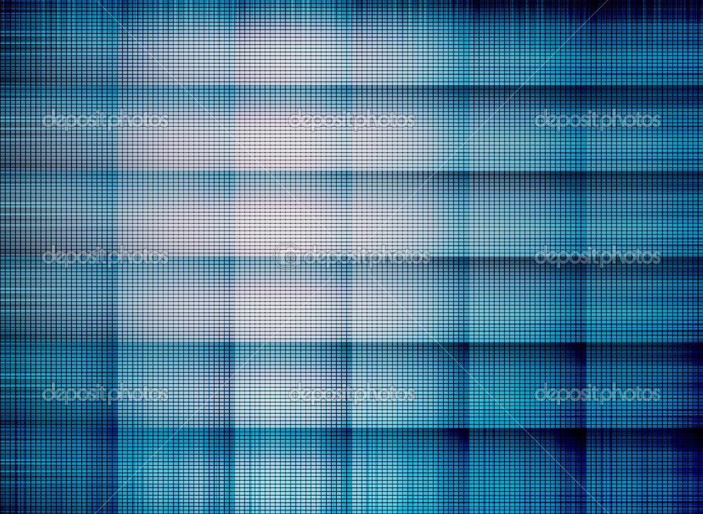 Blue and black square with light. Illustration — Stock Photo #3374505