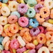 color cereal — Stock Photo
