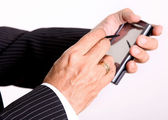 Cell phone — Stock Photo