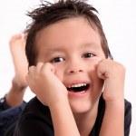 Happy kid — Stock Photo