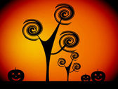 Halloween bild — Stockfoto
