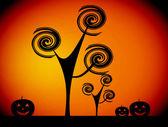Ilustração de halloween — Foto Stock