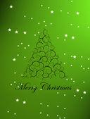 Merry christmas illustration — Stock Photo