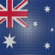 Stock Photo: Australian flag