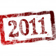 New year stamp — Stock Photo #4211057