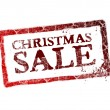 xmas sale — Stock Photo