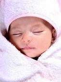 Baby girl — Stock Photo