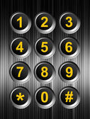 Keypad — Stock Photo