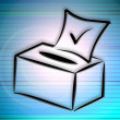 Election box — Stock Photo