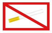 Not smoking signal — Stock Photo