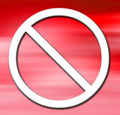 Prohibit — Stock Photo