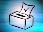 Election box — Stock Photo