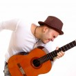 Man playing Guitar — Stock Photo #4846466