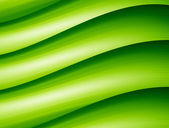 Green waves — Stock Photo