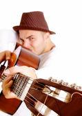 Guitar man — Stock Photo