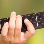 Guitar hand — Stock Photo #4913636