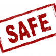 Stock Photo: Safe