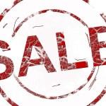 Sale stamp — Stock Photo #4916134