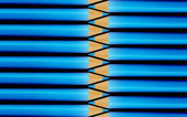 青の色blå färger — ストック写真
