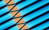 Blaue farben — Stockfoto
